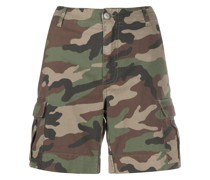 P.A.R.O.S.H. Shorts mit Camouflage-Print