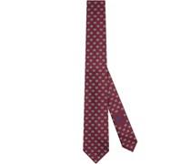 """Krawatte mit """"GG Rhombus""""-Muster"""
