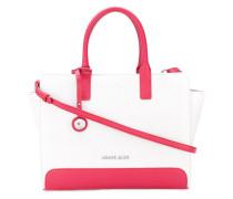 - Handtasche mit Logo-Schild - women - Polyester