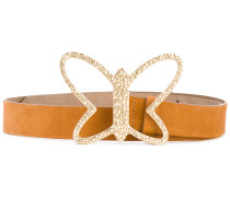 butterfly buckle belt - women - Wildleder - S