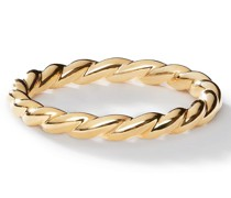 18kt Cable Classics Gelbgoldring