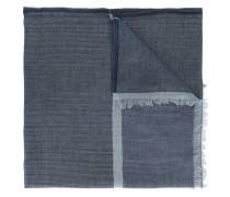 Schal mit Fransen - men - Baumwolle/Kaschmir