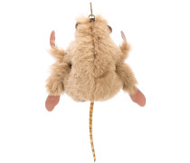 monkey keyring - men - Shearling/Schlangenleder