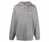 Hoodie mit Smiley-Patch
