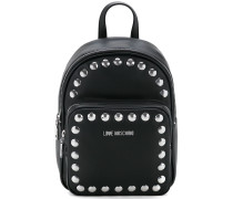studded logo backpack - women - Polyurethan