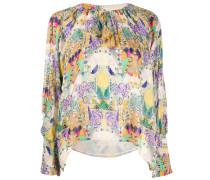 Bluse mit Inka-Print