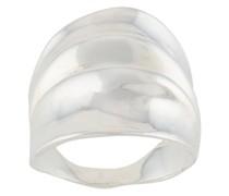 'Draped' Ring aus Sterlingsilber
