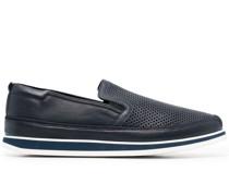 Loafer mit perforiertem Detail