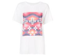 T-Shirt mit Kreuz-Print
