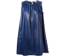 Plissiertes Kleid mit A-Linie
