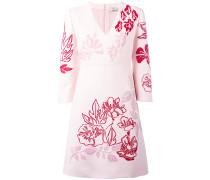 - Minikleid mit Blütenstickerei - women