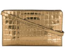 Jet Set Travel metallic bag