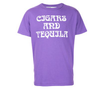 'Art Dad Cigars and Tequilla' T-Shirt