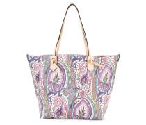 Shopper mit Paisley-Print