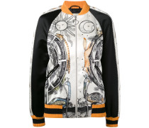 - Jayde Fish printed bomber jacket - women