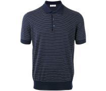 Gestreiftes Poloshirt - men - Baumwolle - 52