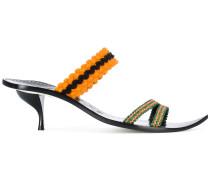 Sandalen mit gestricktem Riemen