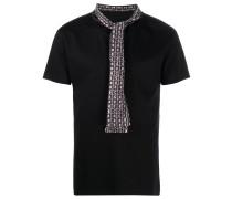T-Shirt mit bedrucktem Schal