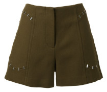 staple trim shorts
