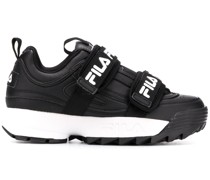 Sneakers mit doppelten Riemen