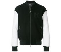 Karl varsity bomber jacket