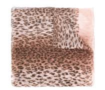 leopard print scarf - women - Seide