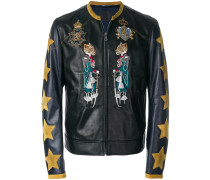 applique detail jacket