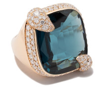 18kt 'Ritratto' Rotgoldring