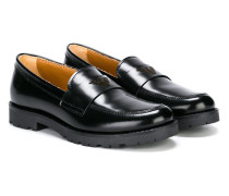 ridged sole loafers