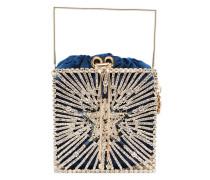 'Lanterna' Handtasche mit Kristallen