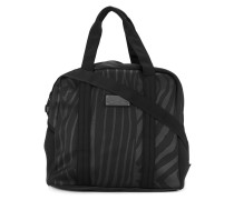zebra stripe sports bag