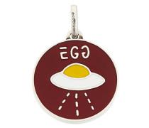 'GucciGhost' Silberänhänger mit UFO-Motiv