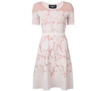 Kleid mit Intarsien-Strickmuster