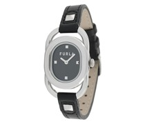 Ovale Armbanduhr
