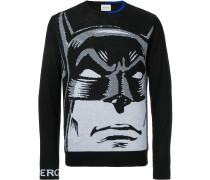 'Batman' Intarsien-Pullover
