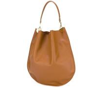 Handtasche mit Kontrastrand