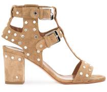 Sandalen mit Nieten - women - Leder - 37