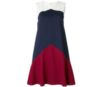Willa colour-block A-line dress