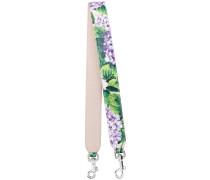 floral bag strap - women - Kalbsleder