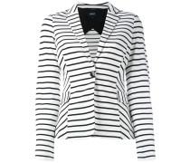 - striped blazer - women