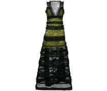 Kleid mit gestuftem Design