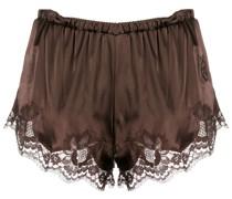 Shorts mit Spitzenborte