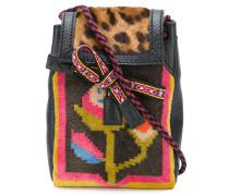 Handtasche mit Leopardenmuster