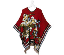 Poncho in Oversized-Passform
