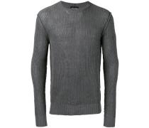 Gerippter Pullover - men - Baumwolle - 46