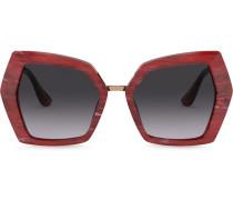 Oversized-Sonnenbrille mit DG