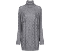 cable-knit jumper