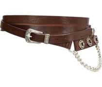 chain-link detail belt