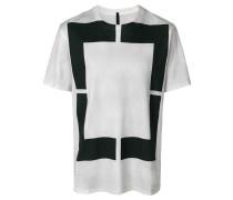 T-Shirt mit rechteckigem Print