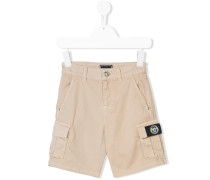 Cargo-Shorts mit Logo-Patch